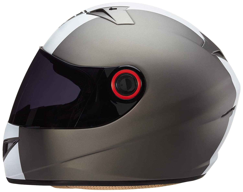 Sun Visor /· incl SOXON ST-666 Shiny Night /· Sport Cruiser Street Scooter-Helmet Urban Helmet Full-Face Moto-Helmet Motorcycle-Helmet /· ECE certified /· incl 57-58cm Cloth Bag /· Black /· M