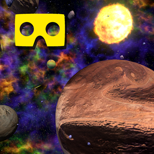 VR Space Exploration Pack for Google Cardboard glasses