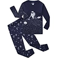 Dolphin&Fish Boys Christmas Pajamas Little Kids Pjs Sets 100% Cotton Toddler Clothes Sleepwears