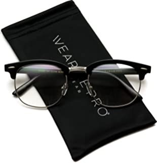 35480529f92f2 Amazon.com  Amomoma Unisex Wayfarer Non-prescription Glasses Frame ...
