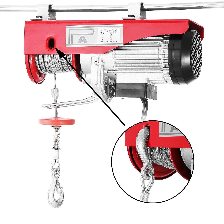 Electric hoist 120v ground recessed uplights