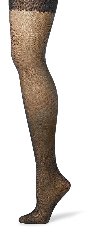 Hanes Silk Reflections Womens Silky Sheer Control Top Sandalfoot Hosiery Pack of 3