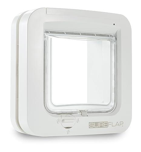 Sureflap Chatière à Puce Électronique pour Chat - Blanc