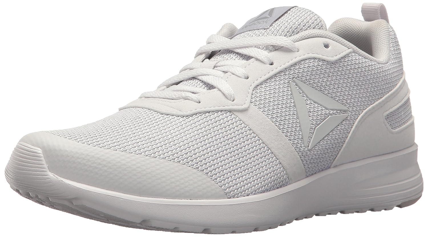 Reebok Women's Foster Flyer Track Shoe B073X9GHDT 11.5 B(M) US|Porcelain/Steel
