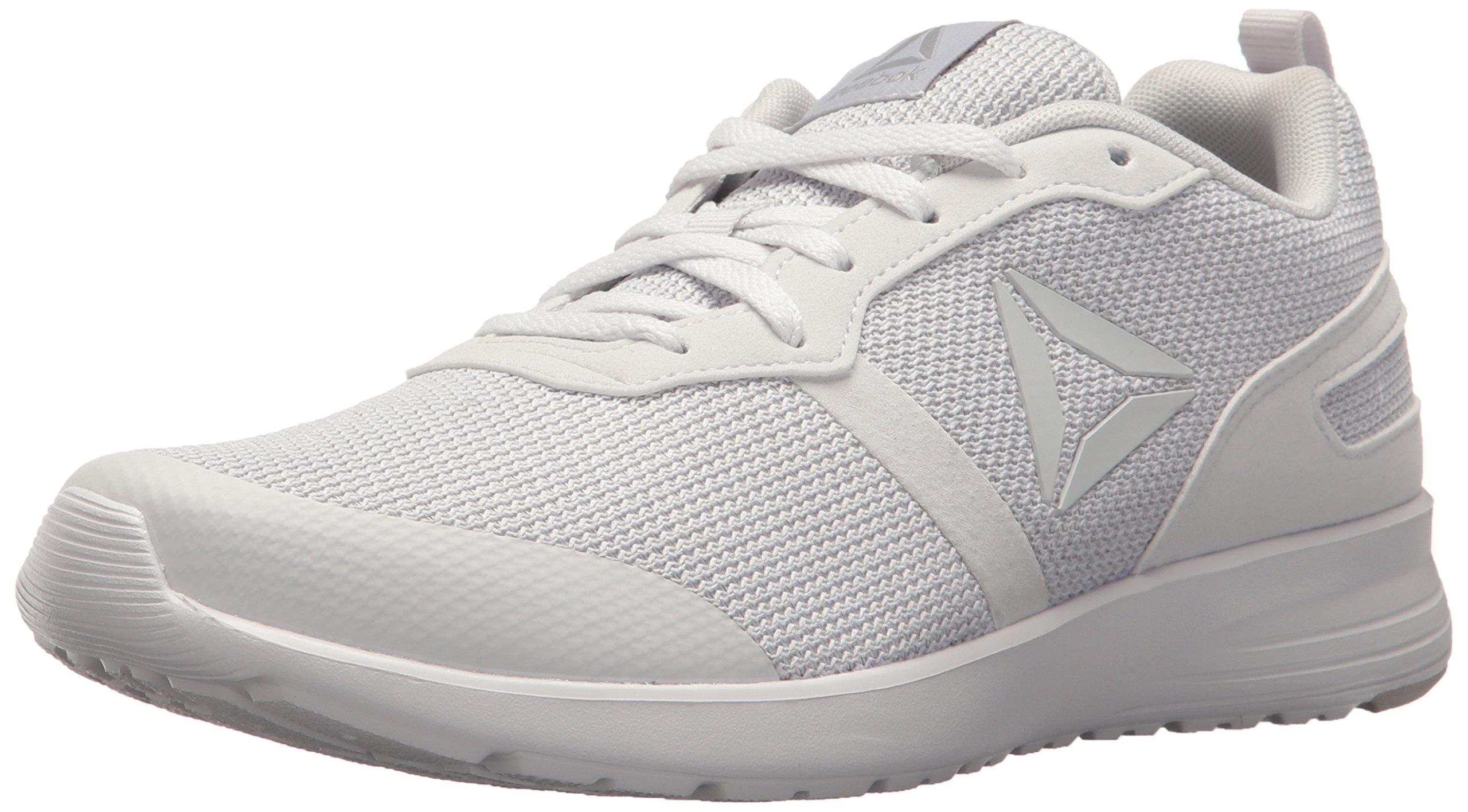 Reebok Women's Foster Flyer Track Shoe,porcelain/steel,8 M US