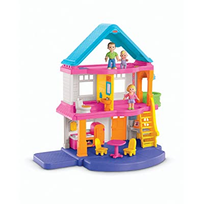 Fisher-Price My First Dollhouse Playset: Toys & Games