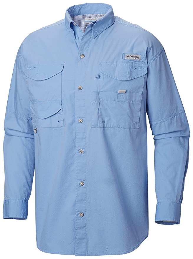 3785998f245 Amazon.com: Columbia Sportswear Men's Bonehead Long Sleeve Shirt: Clothing