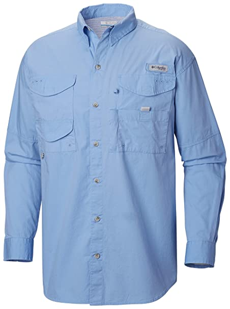 860f981797ff6b Image Unavailable. Image not available for. Color: Columbia Men's PFG  Bonehead II Long Sleeve Shirt ...