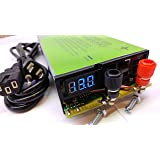 COMPACT POWER 110 VOLT TO 12 VOLT DC 100 AMP HEAVY DUTY BENCH POWER SUPPLY CONVERTER CHARGER ADAPTER BATTERY ELIMINATOR