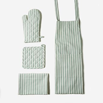Amazon.com: Kitchen Linen Set, 100% Cotton Kitchen Combo ...