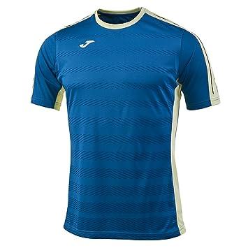 Joma Granada Camiseta Manga Corta, Hombre, Azul, S: Amazon.es: Deportes y aire libre