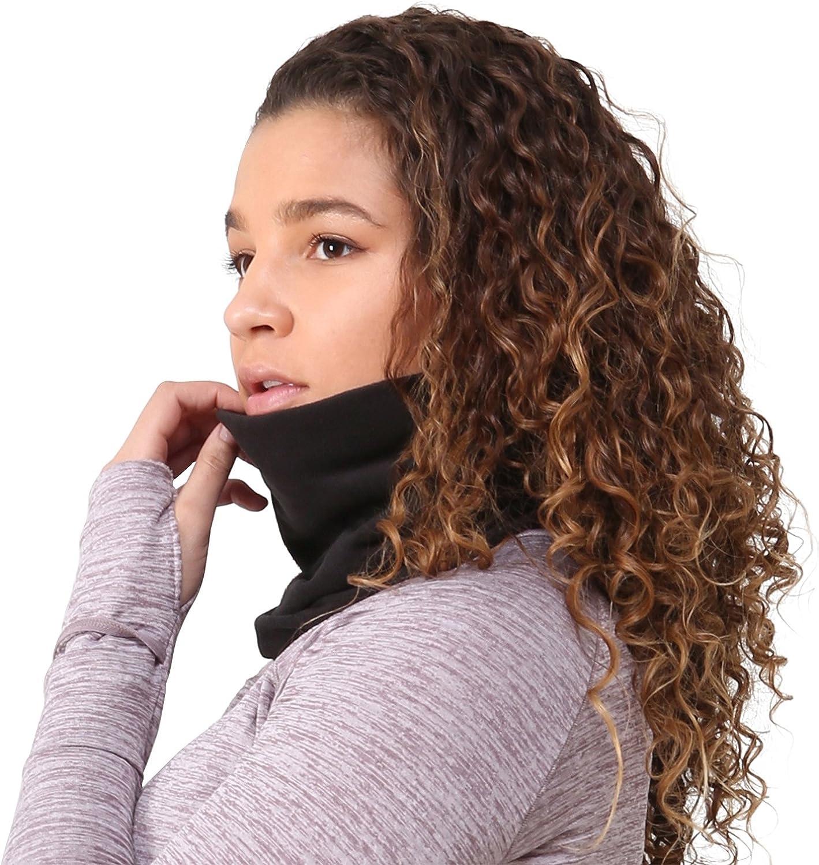 TrailHeads Micro Fleece Neck Warmer | Contoured Winter Neck Gaiter