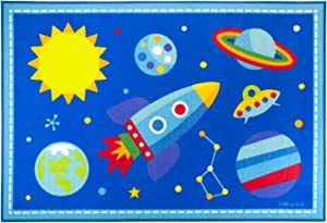 Wildkin 39x58 Inch Rug, Out of this World