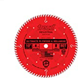 Freud LU80R010 10-Inch 80 Tooth Hi-ATB Ultimate Plywood and Melamine Cutting Saw Blade with 5/8-Inch Arbor, Multi, One Size