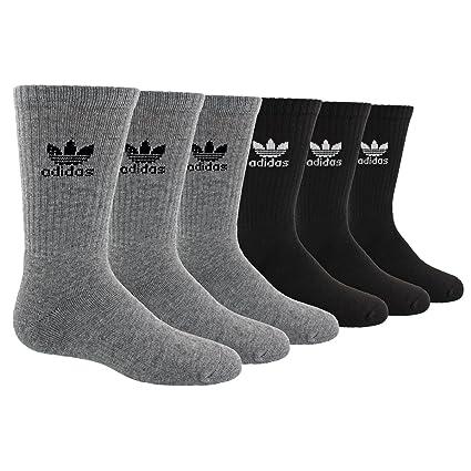 8ed44be87806 Amazon.com  adidas Originals Kid s - Boys Girls Trefoil Crew Socks ...