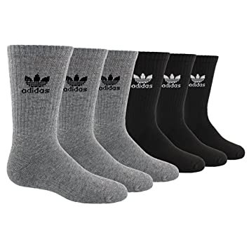 Adidas Originals Trefoil: juventud 6 Pack Crew Socks