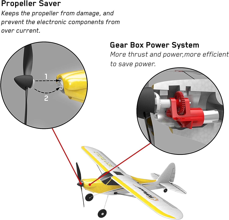 Propeller remote control aircraft Coreless motor model aircraft gearbox shift
