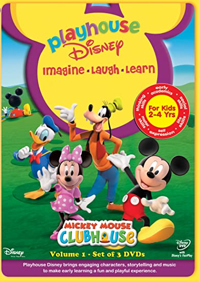 Playhouse disney website mickey mouse clubhouse
