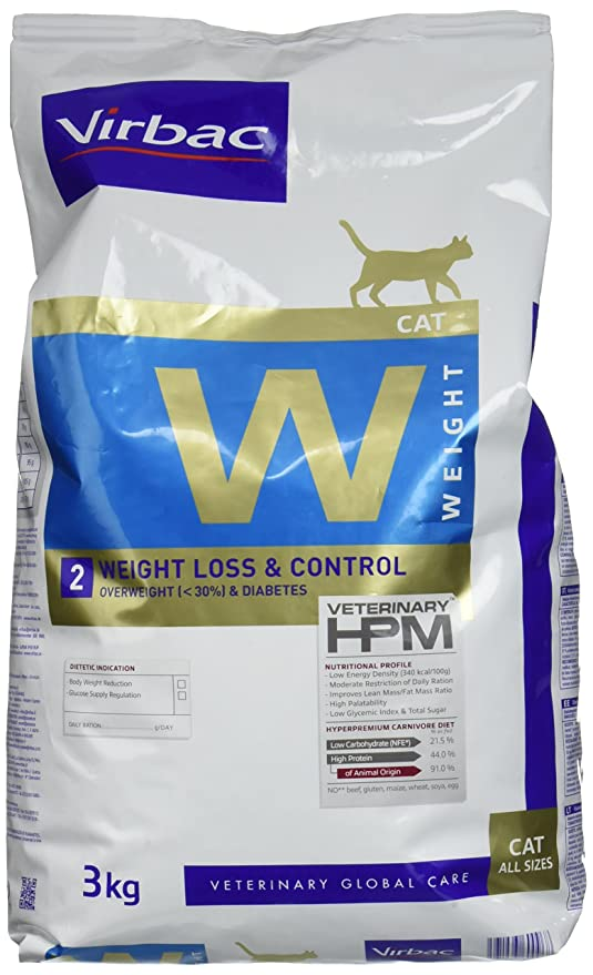 Virbac Veterinary HPM Cat Weight L & C Comida para Gato Bolsa de ...
