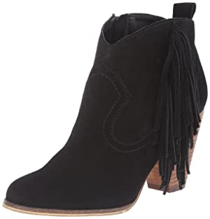 Steve Madden Women's Ohio Boot, Black Suede, 9.5 M US