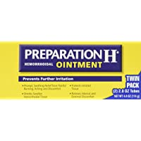 Preparation H Hemorrhoidal Ointment, 2-Ounce Tubes (Pack of 2)