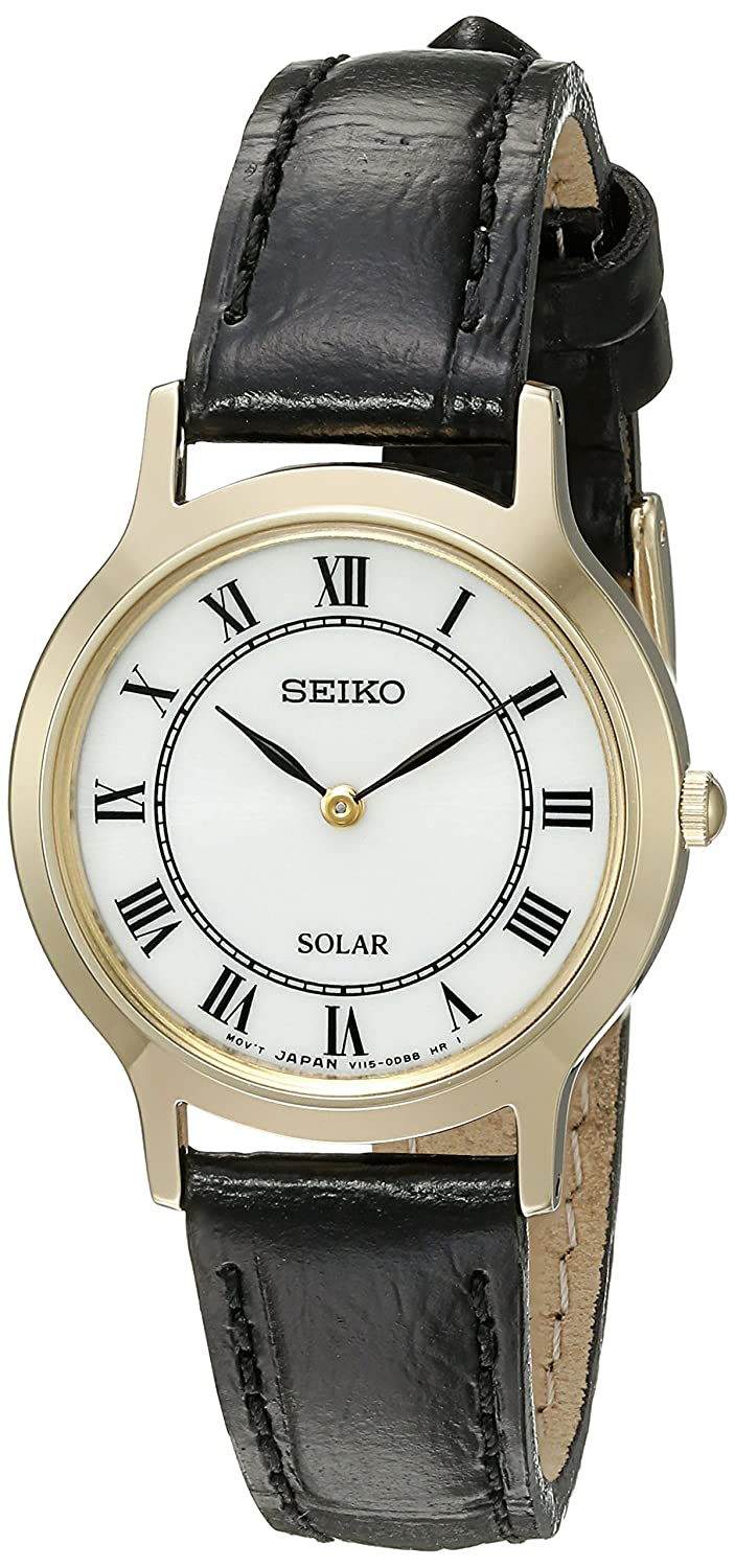 Seiko Women s Ladies Dress Quartz Stainless Steel Dress Watch Model SUP304