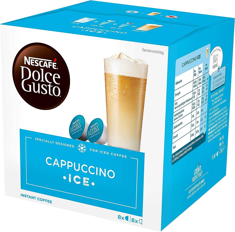 NESCAFÉ Dolce Gusto | Capsulas de Café Cappuccino Ice | Pack de 3 ...