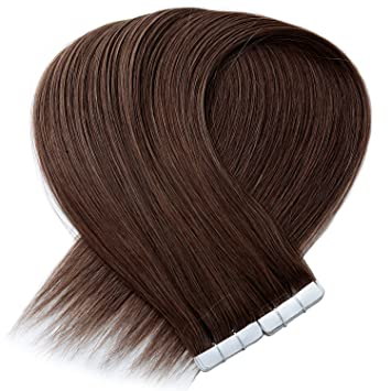 Amazon.com   Vlasy 9A 24inch 100% Handtied Tape in Human Hair 10Pcs 20g PU  Skin Tape in Remy Hair Extensions (8 )   Beauty 5ec102bdd70