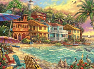 product image for Buffalo Games - Chuck Pinson - Island Time - 1000 Piece Jigsaw Puzzle