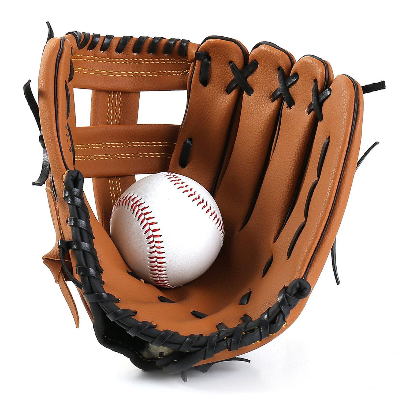 全日本送料無料 Inf-way 野球ミット ユースシリーズ 野球グローブ ソフトボールグローブ (左手) 野球ミット (左手) ブラウン B07G2MXFSB ブラウン 12.5'', 福生市:11e46622 --- a0267596.xsph.ru