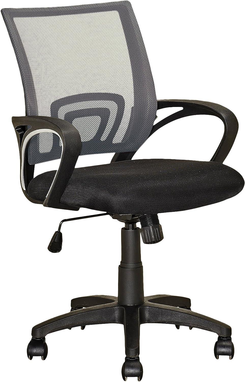 CorLiving Workspace Office Chair, Dark Grey