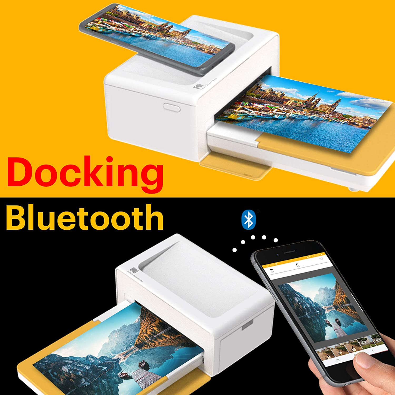 Bluetooth /& Docking Kodak PD460 Fotodrucker 10 x 15 cm Wei/ß /& Schwarz