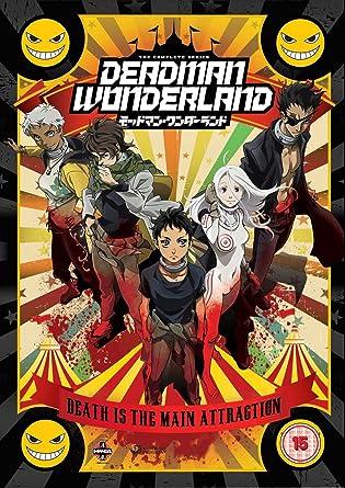 Deadman wonderland the complete series collection dvd amazon deadman wonderland the complete series collection dvd voltagebd Gallery