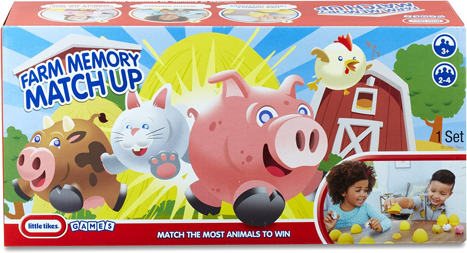Little Tykes Farm 3-D Memory Match-up Game Pieces