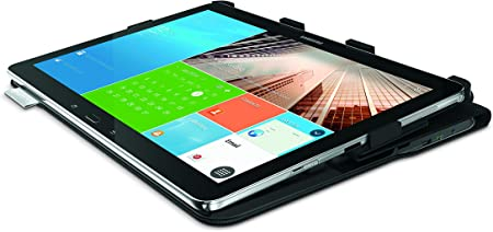 Logitech ProtectCase - Funda con Teclado para Galaxy NotePRO 12.2/TabPRO 12.2, Negro - AZERTY Francés