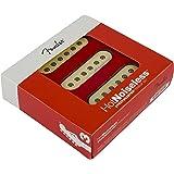 Fender Strat Hot Noiseless Pickups, Aged White, Set Of 3 Electric Guitar Part