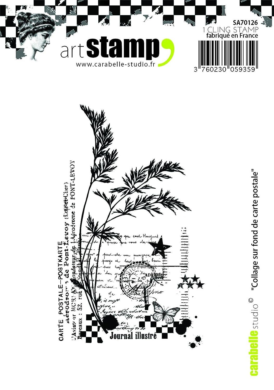 Carabelle Studio 365 Days of Happiness Cling Sello Mini, Caucho, 5.0x6.0x0.5 cm: Amazon.es: Hogar