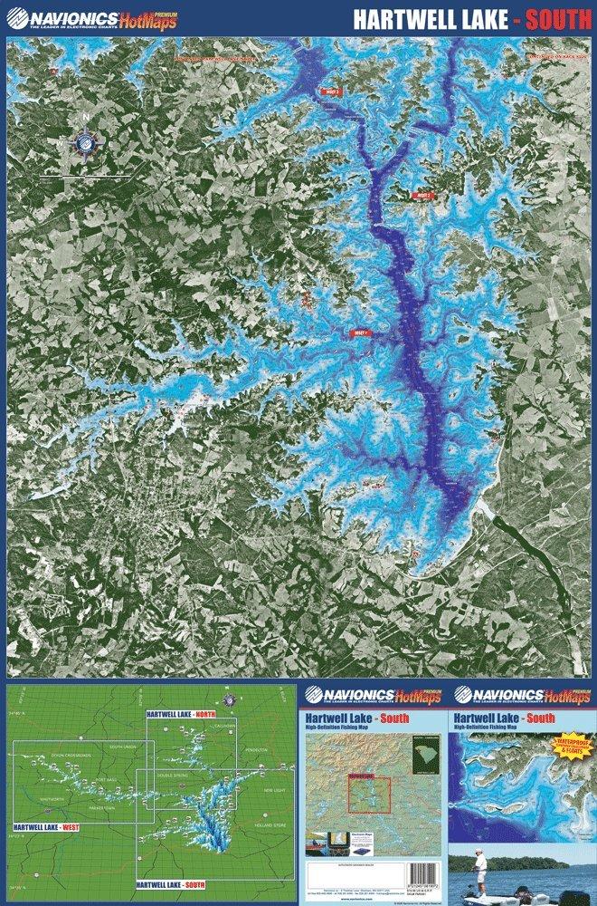 Hartwell Lake Map - Bundle: Navionics Premium ... on topo map of squaw creek reservoir, antique map of lake hartwell, topo map of pinnacle mountain, topo map of ladue reservoir, topo map of owyhee reservoir, topo map of ross barnett reservoir, topo map of gibbons creek reservoir, topo map of athens, topo map of potomac river, topo map of united states, topo map of myrtle beach, topo map of aurora reservoir,