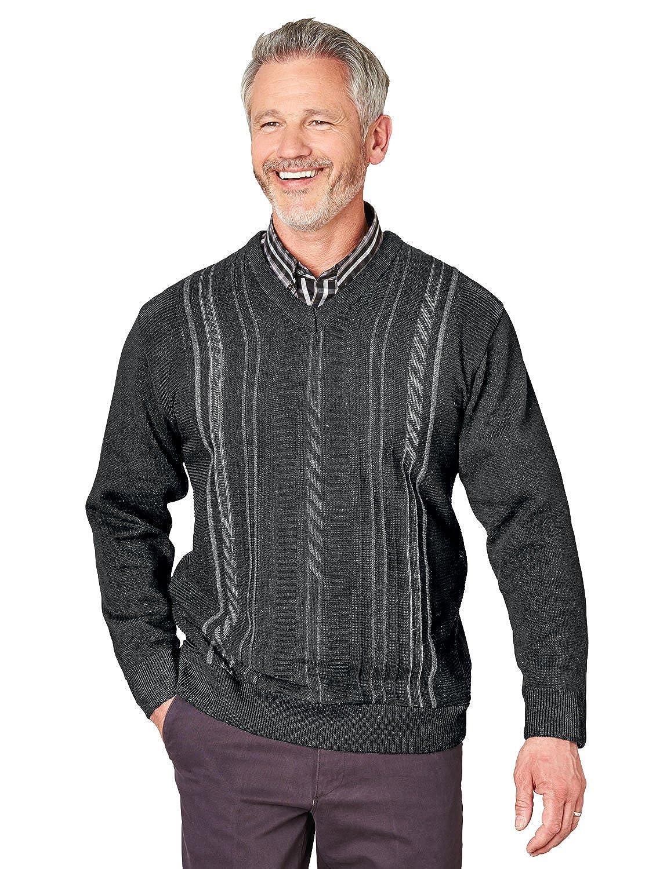 Mens Woodville V Neck Sweater Jumper