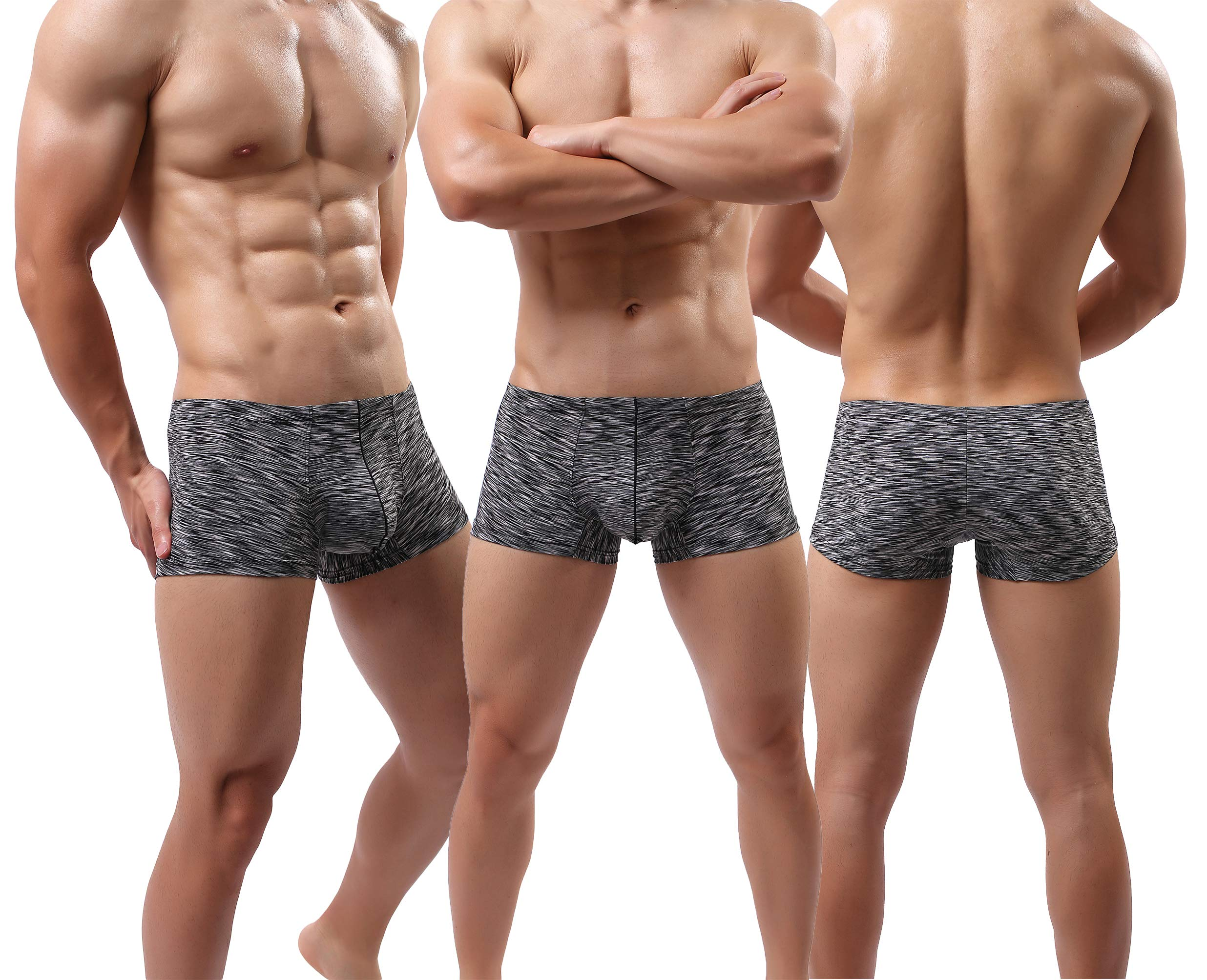 MAKEIIT Young Underwear X-Temp Boxers Guys Underwear Fitted Cool Boxer Briefs Men by MAKEIIT (Image #2)
