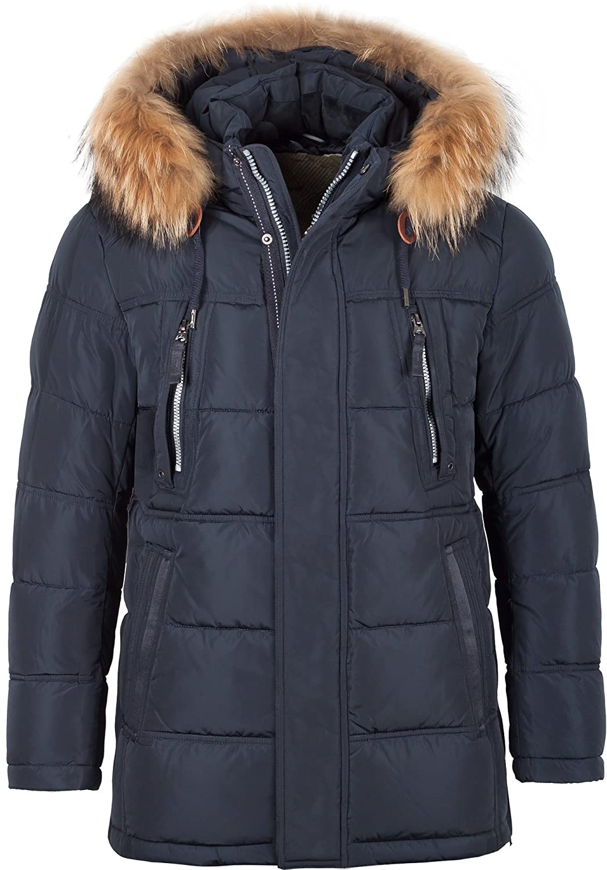 5W40M Herren Winterjacke in Daunen-Optik Winter Jacke