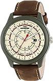 Timex Herren-Armbanduhr XL Full Camper Analog Leder T49921