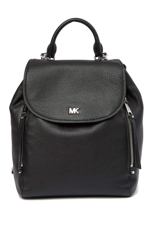 (マイケル コース) Michael Michael Kors Women`s Evie Medium Pebbled Leather Backpack レディースEvieミディアムペブルレザーバックパック(並行輸入品) One Size ブラック B07MX8P3TP