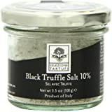 Selezione Tartufi Black Truffle Salt 10%, 3.5 Ounce Unit