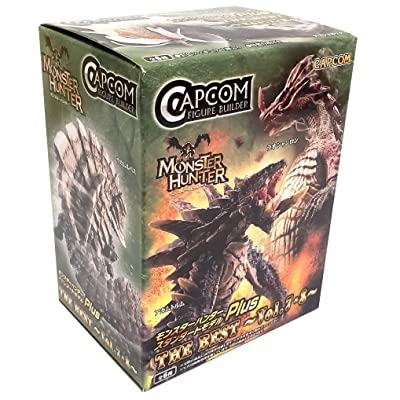Capcom CFB Monster Hunter Plus The Best Vol. 7, 8 Action Figures (Single Random Blind Box): Toys & Games