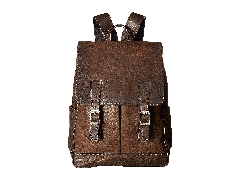 (フライ) FRYE Men`s Oliver Backpack Dark Brown Smooth メンズオリーブバックパックダークブラウンスムース(並行輸入品) One Size Dark Brown Smooth B07B5XKGN6