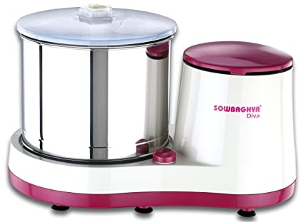 Sowbaghya Diva Wet Grinder (with Attachments)