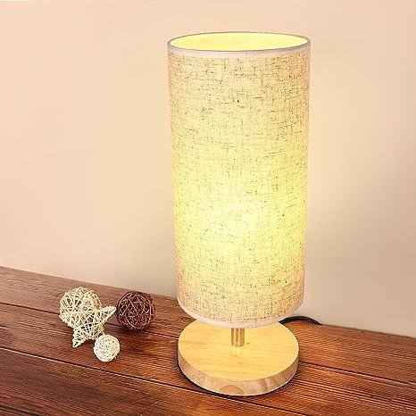 Amazon.com: lewondr lámpara de mesa, lámpara de computadora ...
