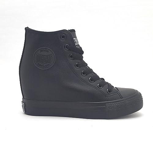 scarpe converse con zeppa