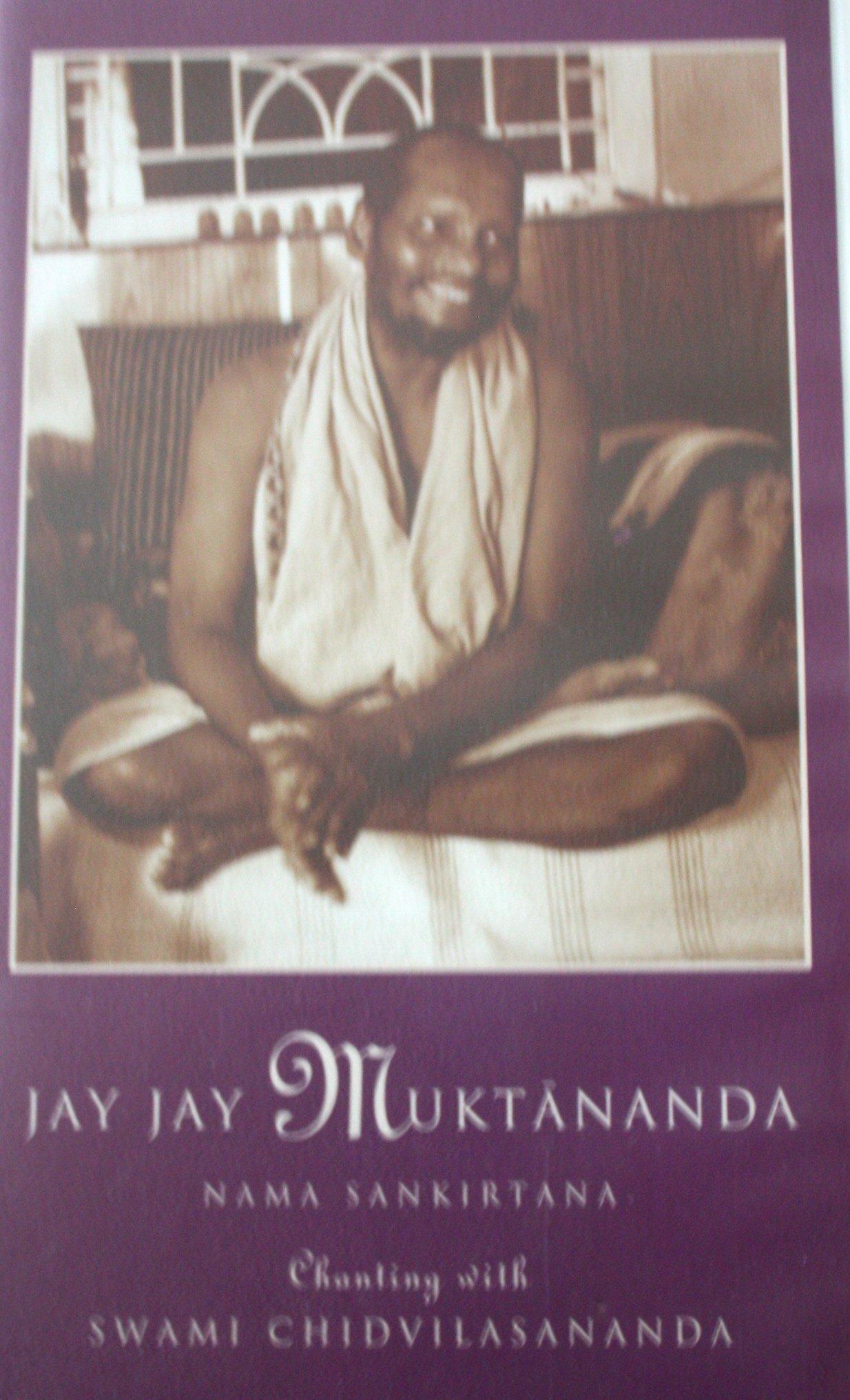 Vhs Jay Jay Muktananda Chanting With Gurumayi Chidvilasananda Vhs Video Cassette Recording Jay Jay Muktananda Amazon Com Books